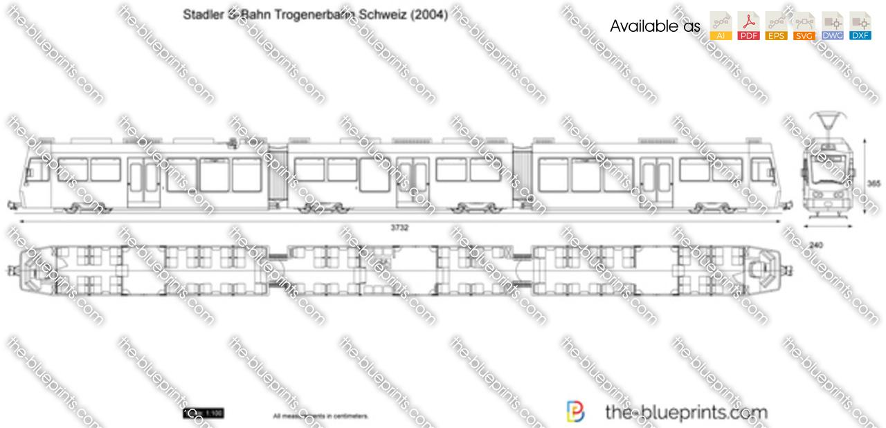 Stadler S-Bahn Trogenerbahn Schweiz