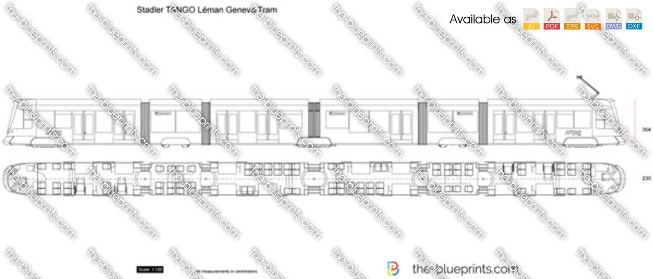 Stadler TANGO Leman Geneva Tram