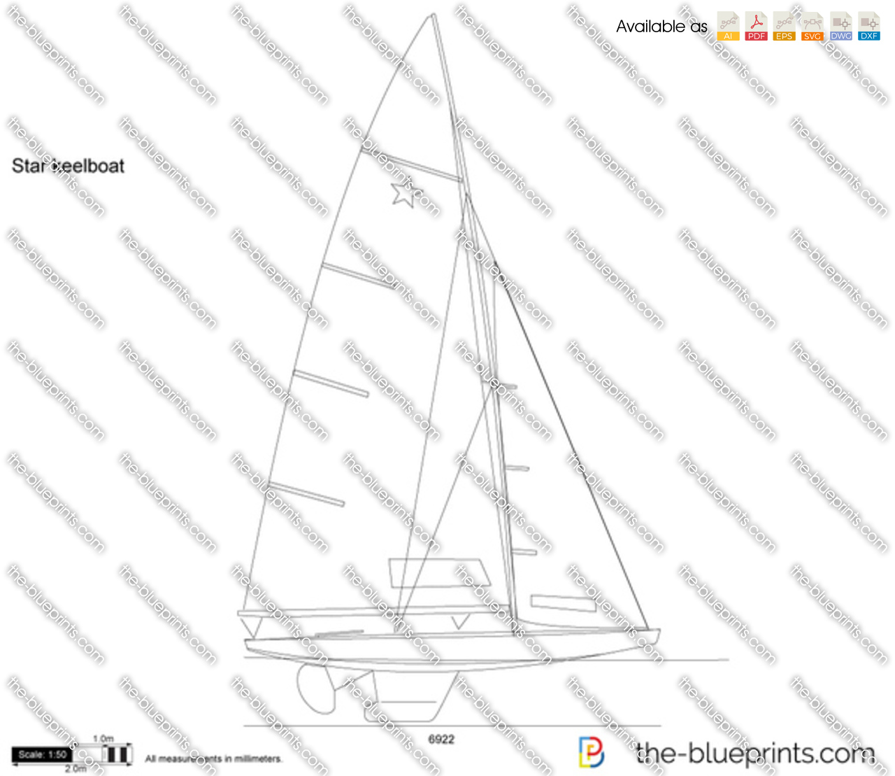 Star keelboat