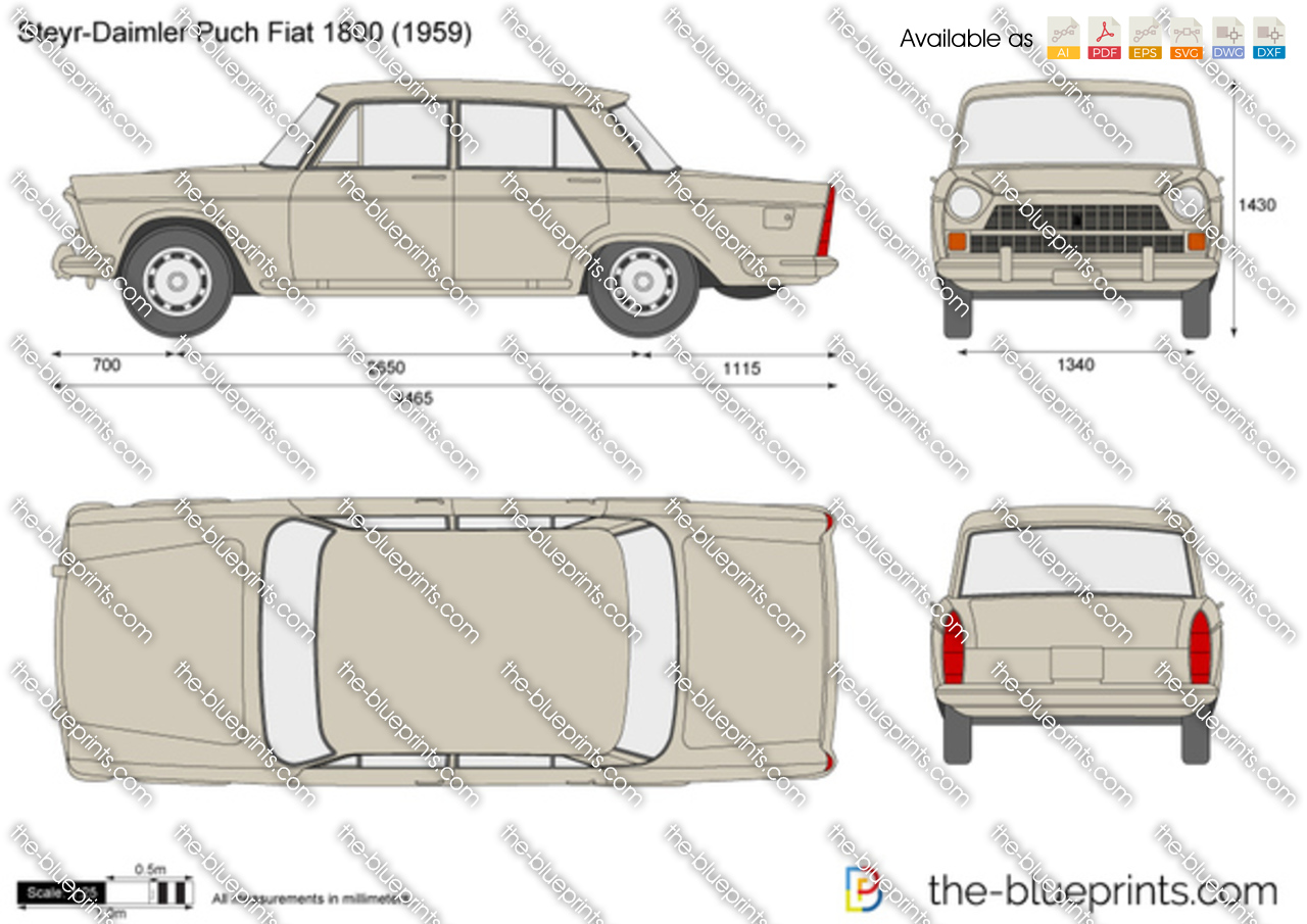 Steyr-Daimler Puch Fiat 1800