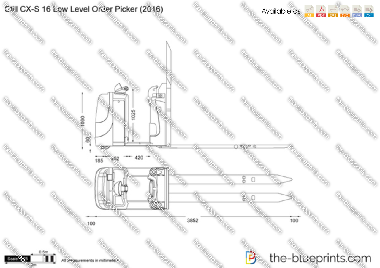 Still CX-S 16 Low Level Order Picker
