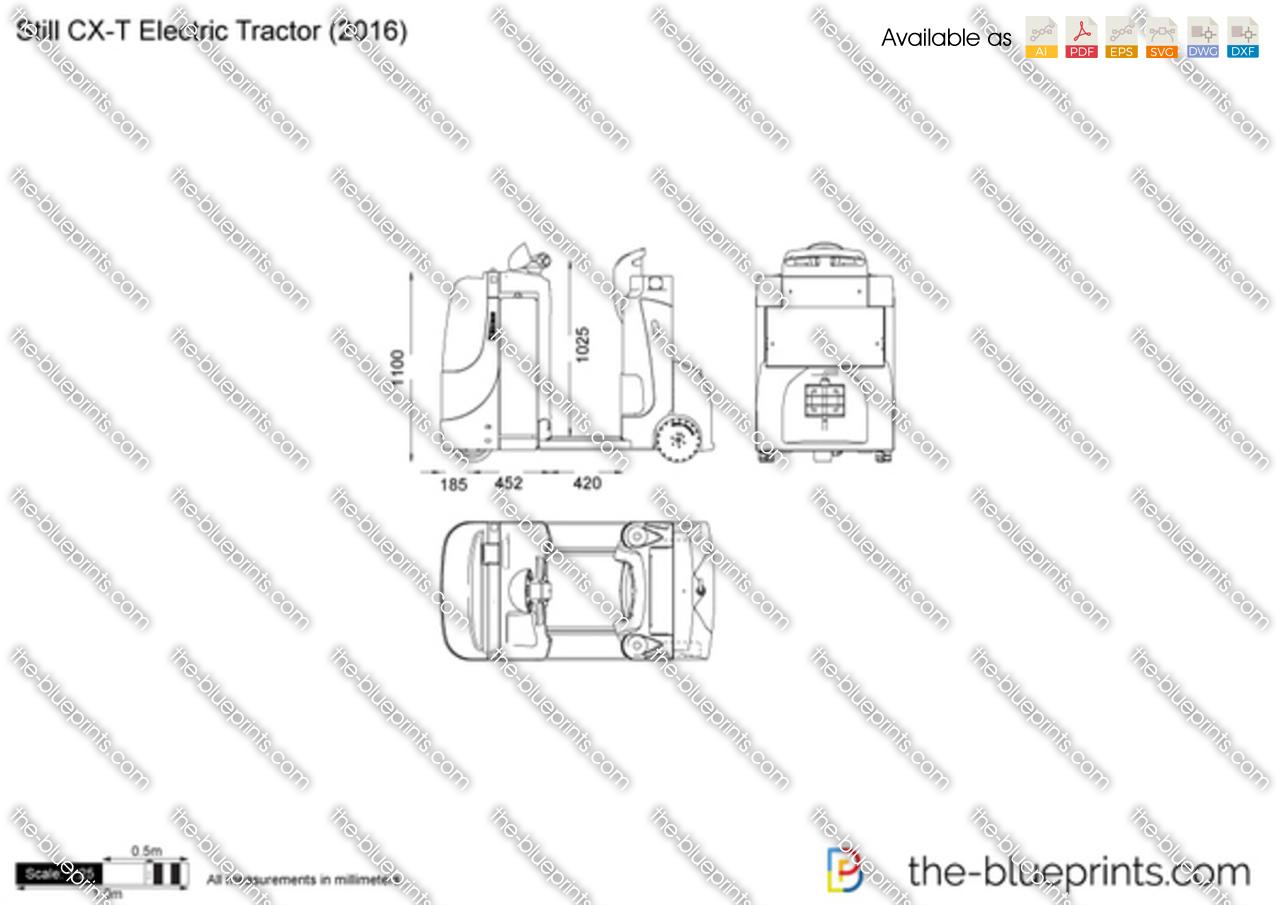 Still CX-T Electric Tractor