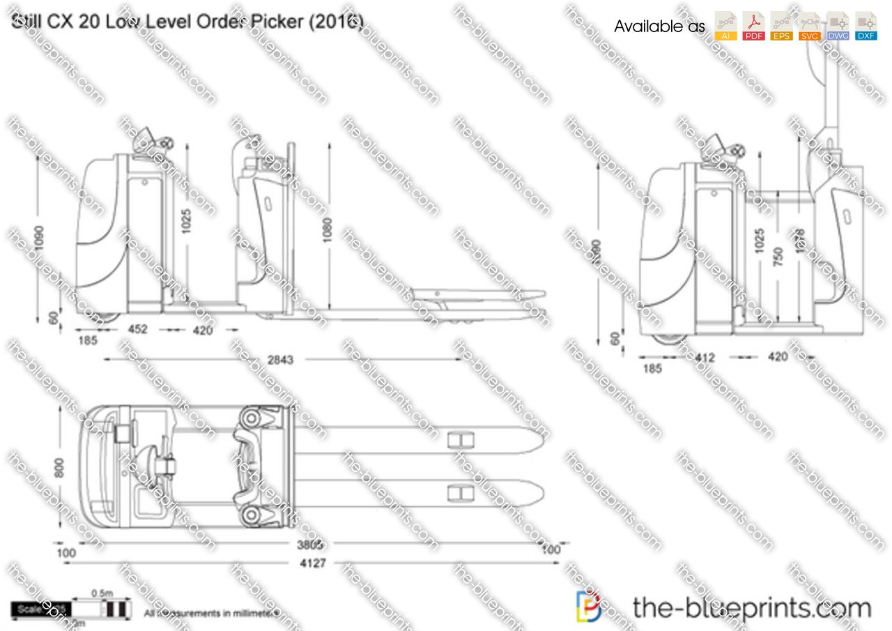 Still CX 20 Low Level Order Picker
