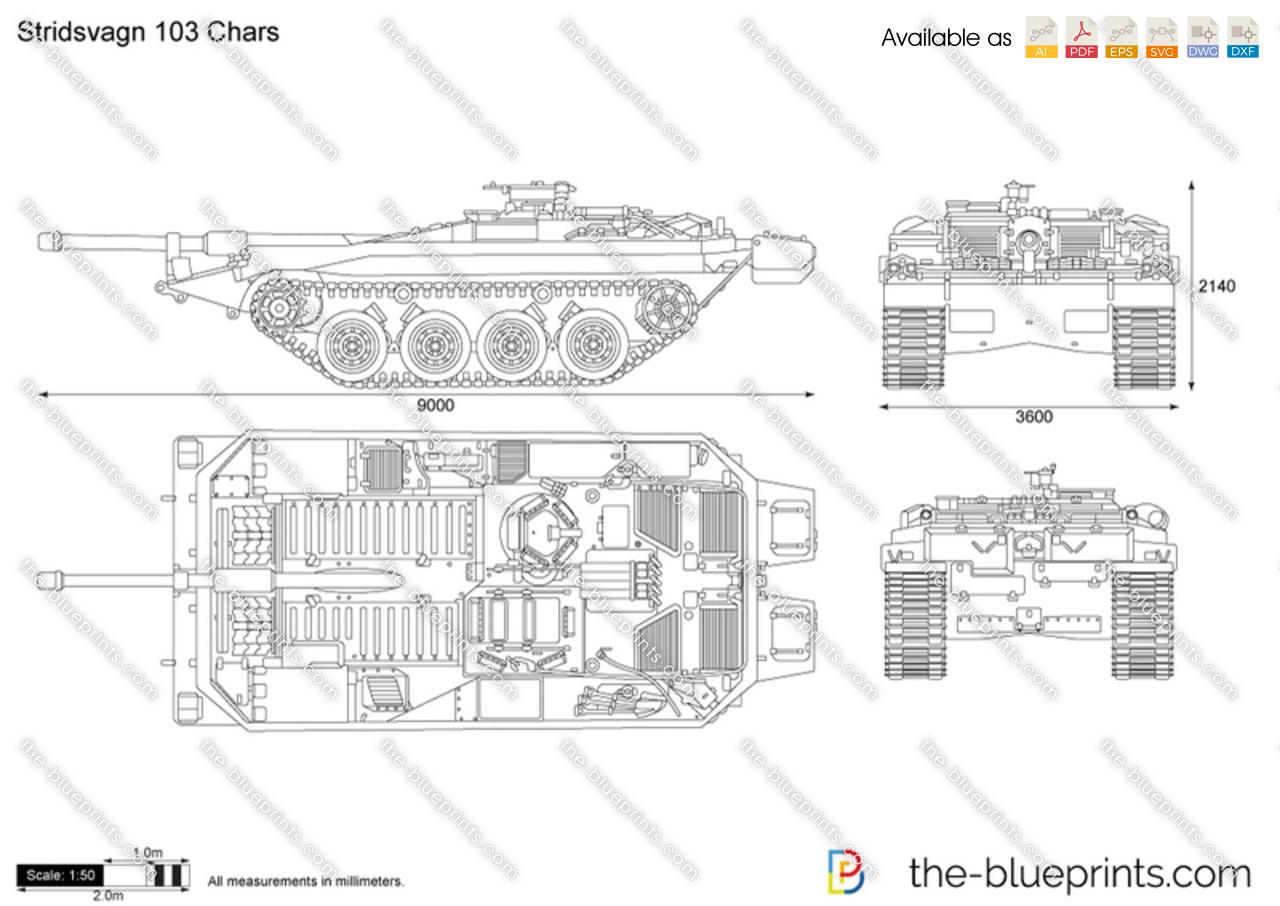 Stridsvagn 103 Chars