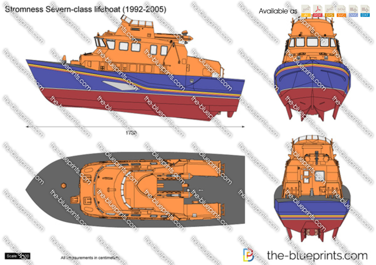 Stromness Severn-class lifeboat