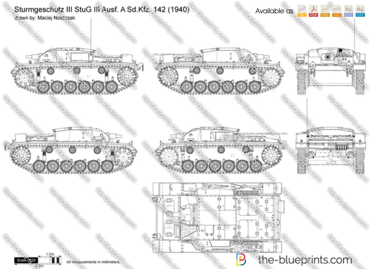 Sturmgeschutz III StuG III Ausf. A Sd.Kfz. 142