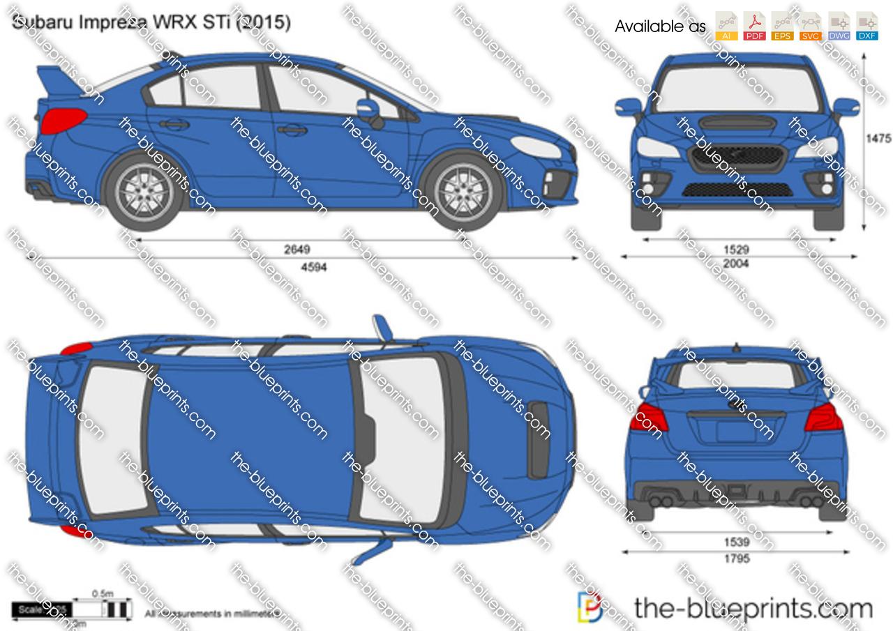 Subaru Impreza WRX STi 2018