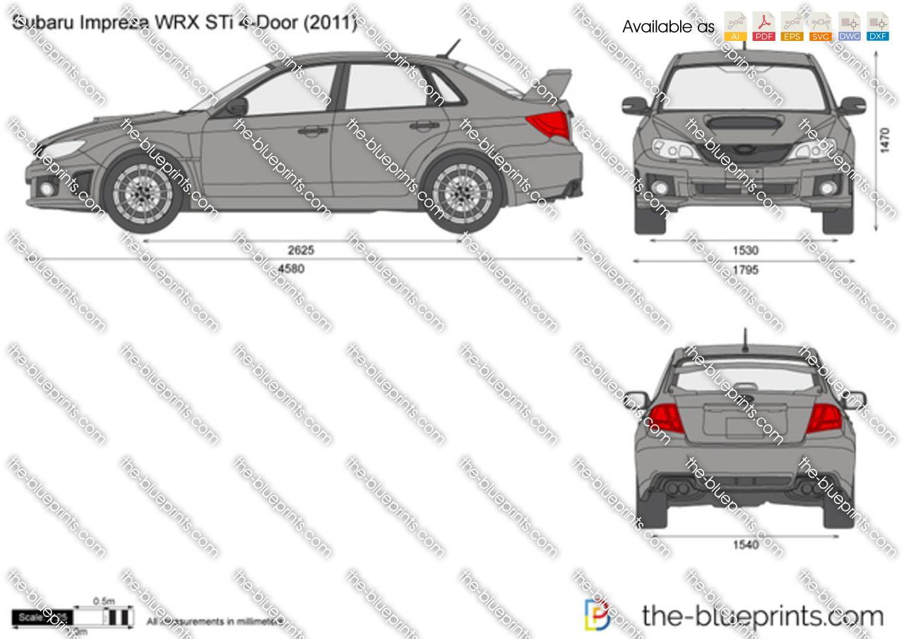 Subaru Impreza WRX STi 4-Door 2008