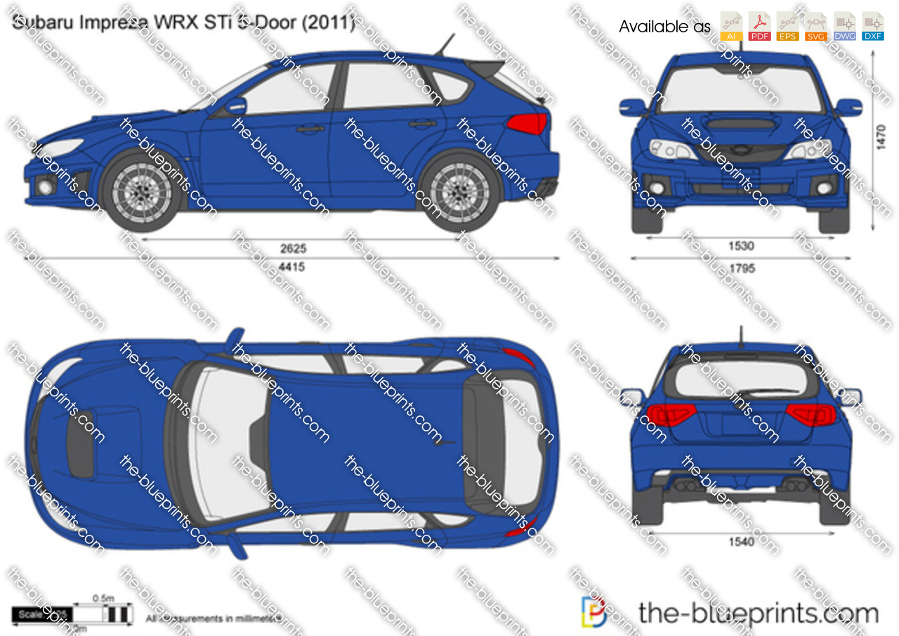 Subaru Impreza WRX STi 5-Door 2009