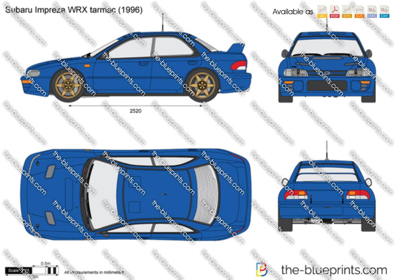 Subaru Impreza WRX tarmac