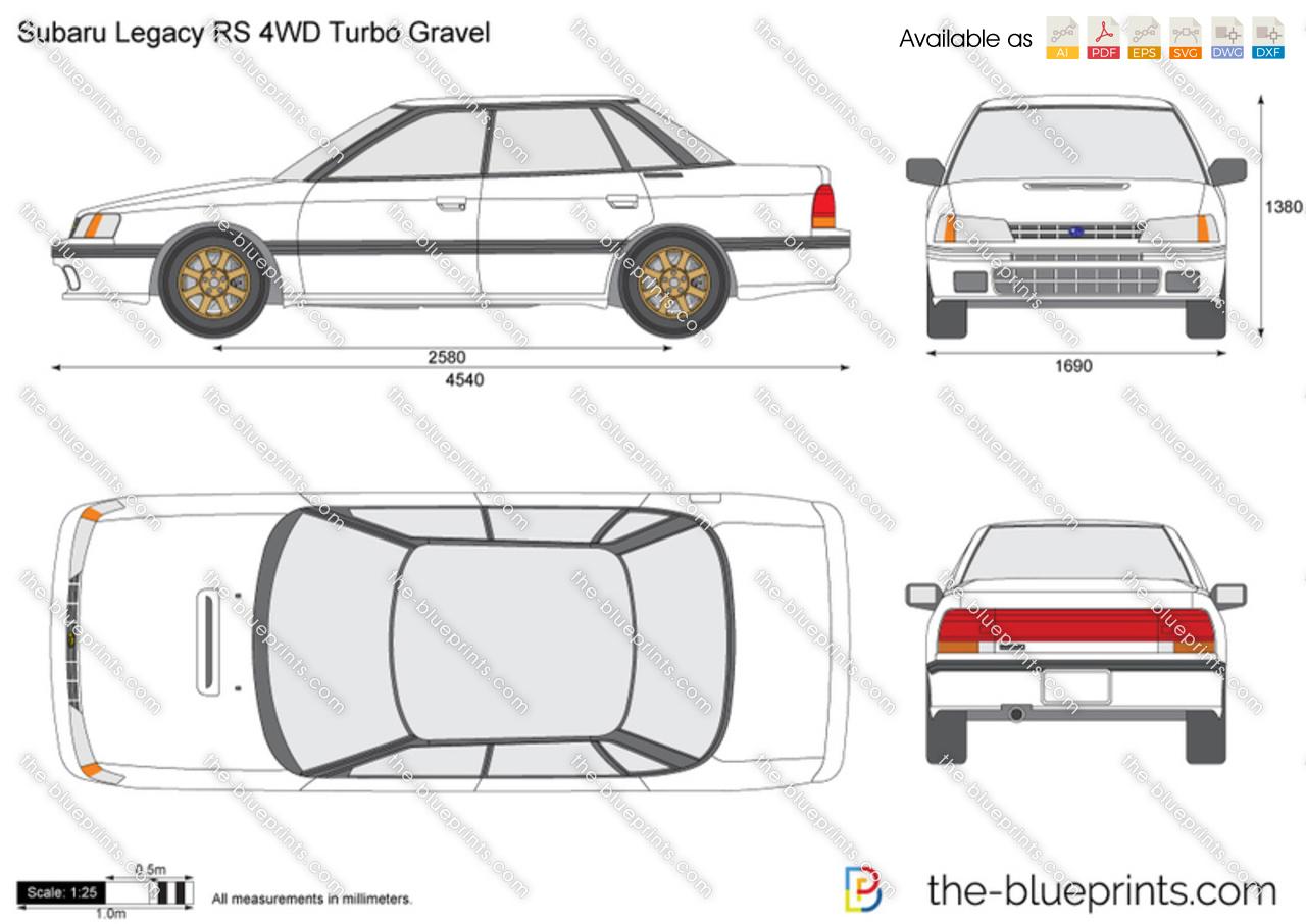 Subaru Legacy RS 4WD Turbo Gravel