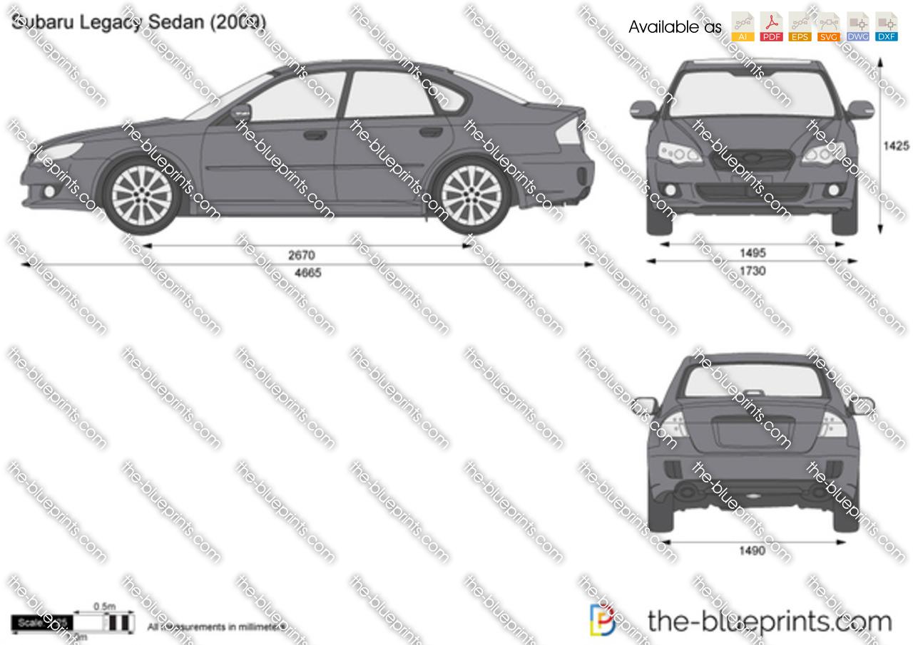 Subaru Legacy Sedan 2008