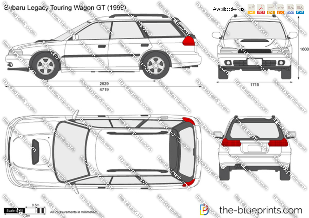 Subaru Legacy Touring Wagon Gt on Ford Ranger Blueprint
