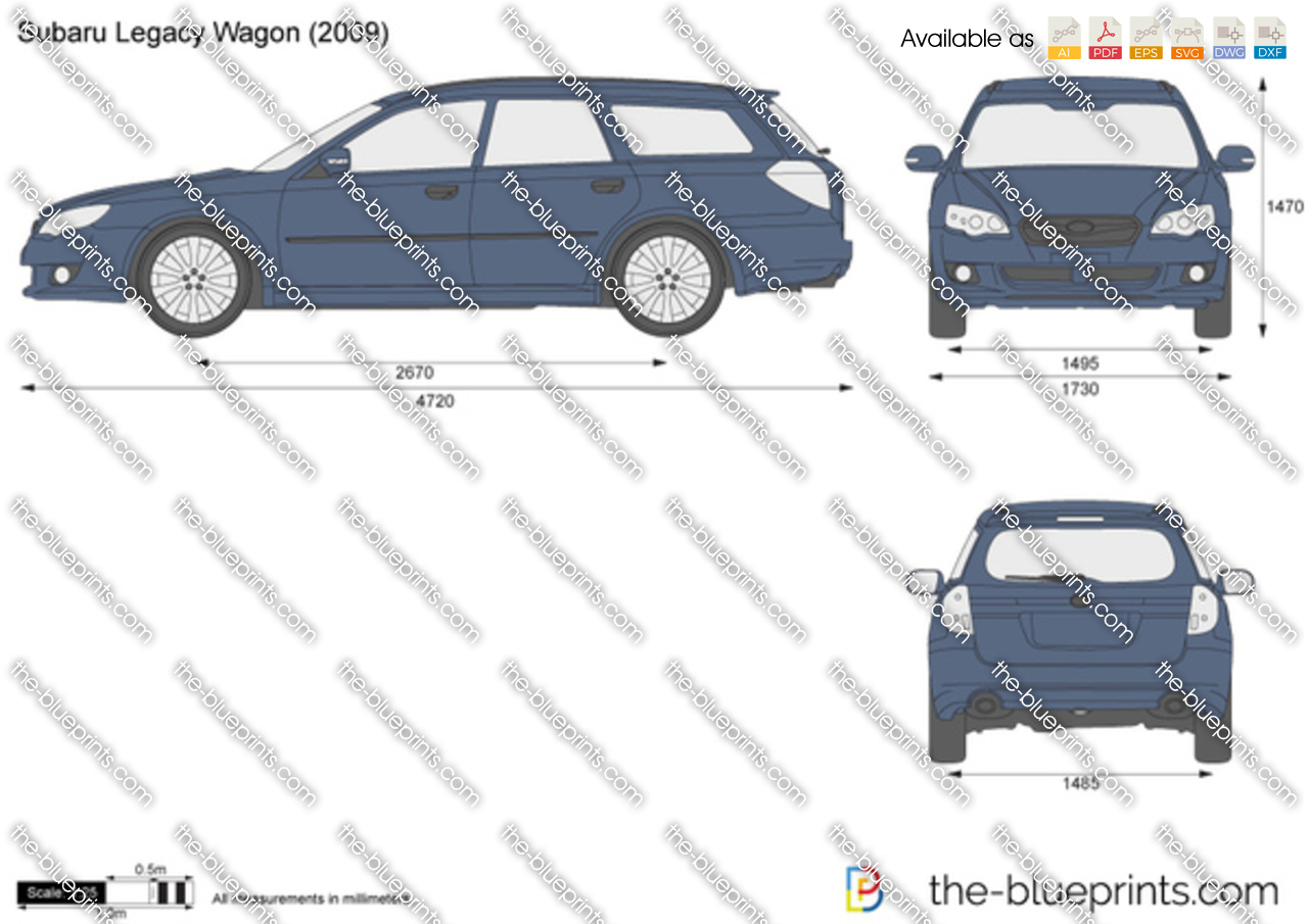 Subaru Legacy Wagon 2004