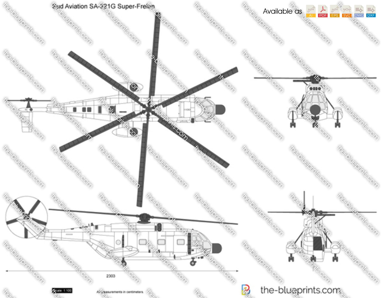 Sud Aviation SA-321G Super-Frelon
