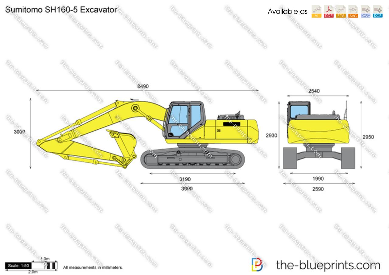 Sumitomo SH160-5 Excavator