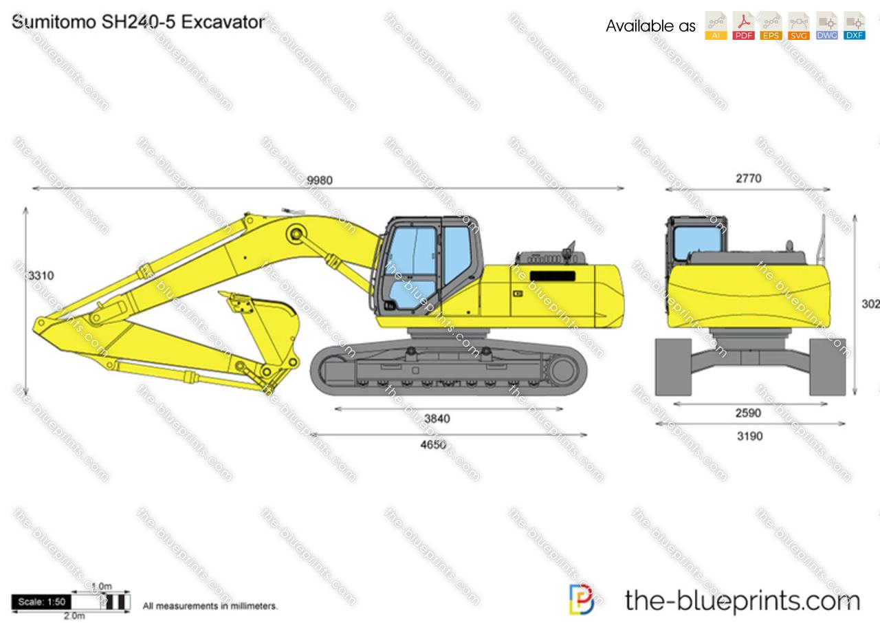 Sumitomo SH240-5 Excavator