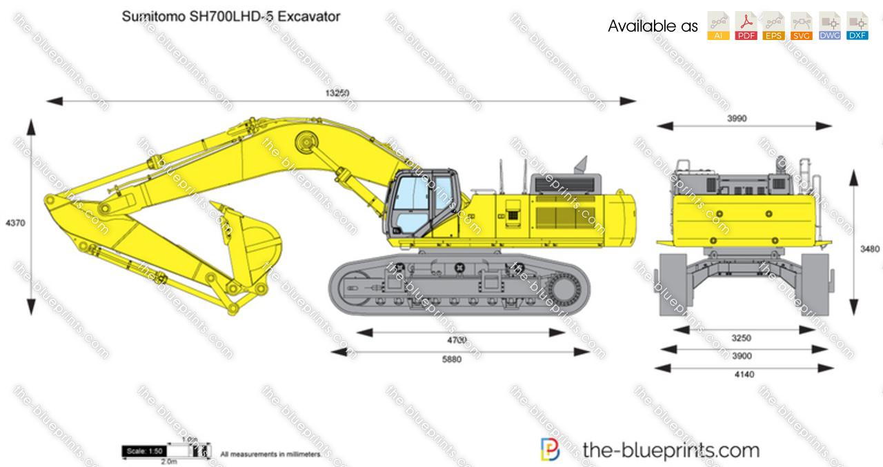 Sumitomo SH700LHD-5 Excavator
