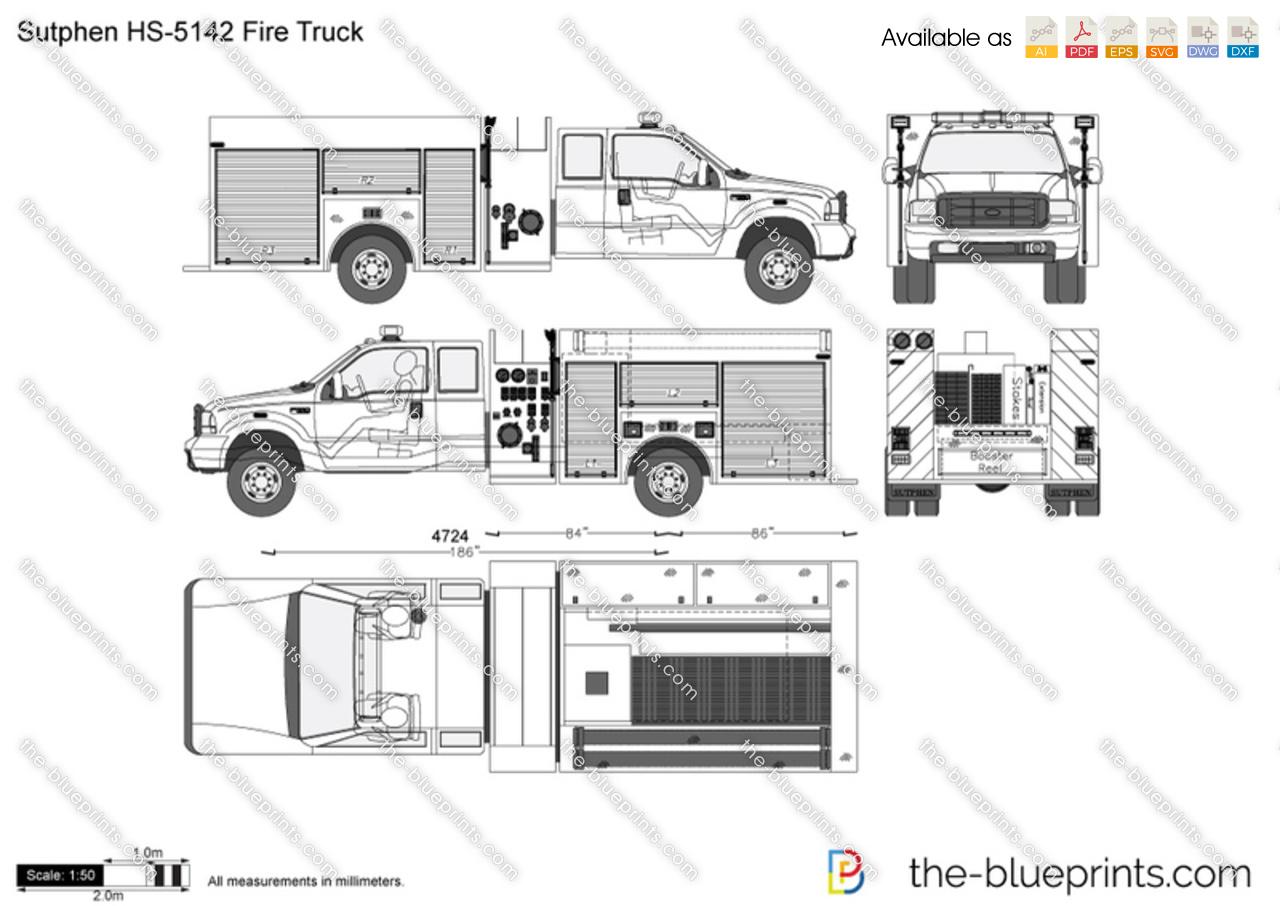 Sutphen HS-5142 Fire Truck