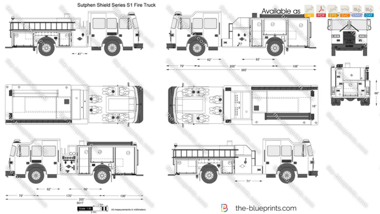 Sutphen Shield Series S1 Fire Truck