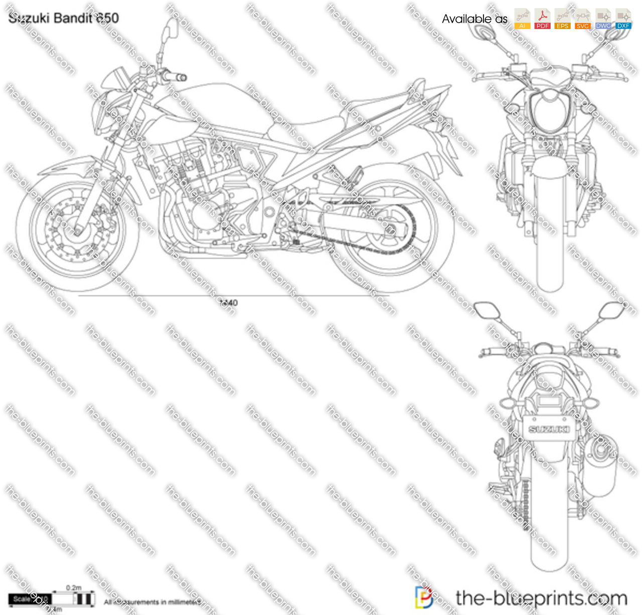 Suzuki Bandit 650 Wiring Diagram on 2007 Gsxr 600 Wiring Diagram