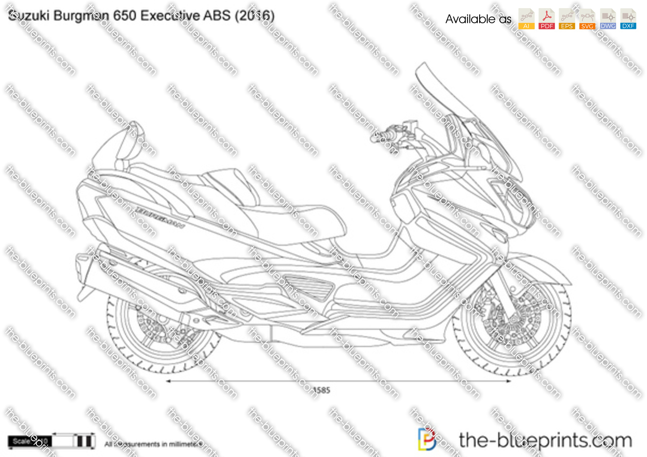 Suzuki Burgman 650 Executive ABS 2017