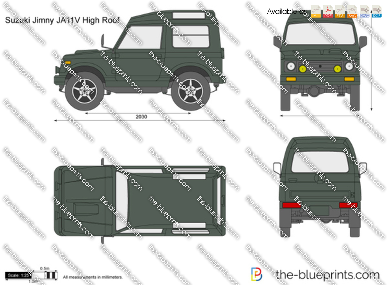 Suzuki Jimny JA11V High Roof