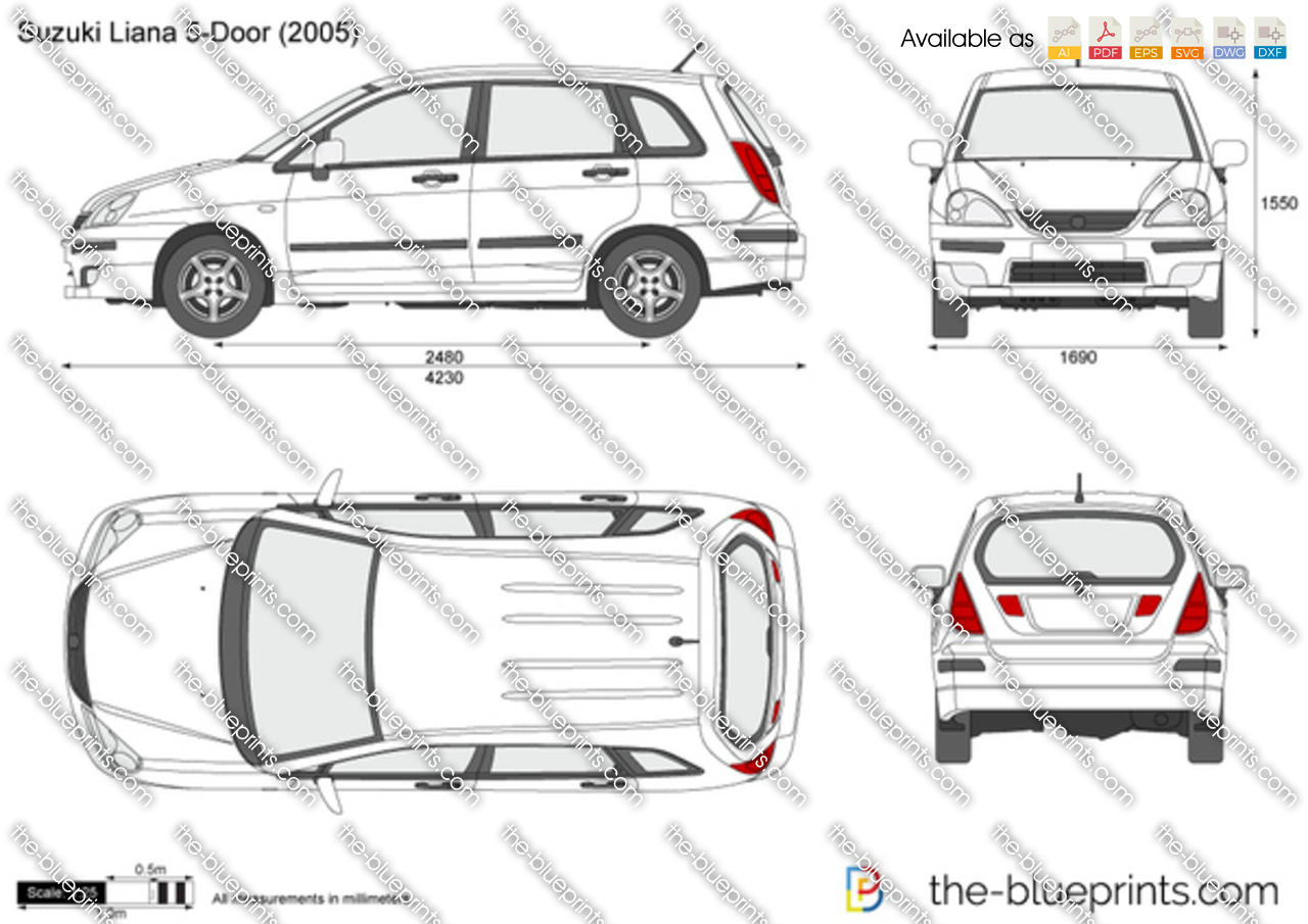 Suzuki Liana 5-Door