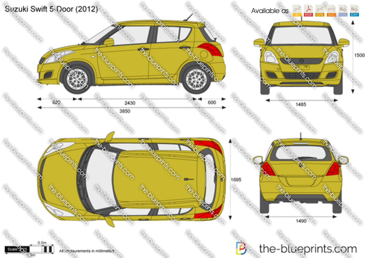 Suzuki Swift 5-Door 2013