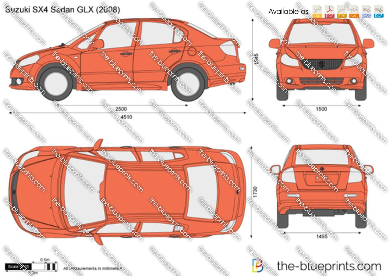 Suzuki SX4 Sedan GLX 2010