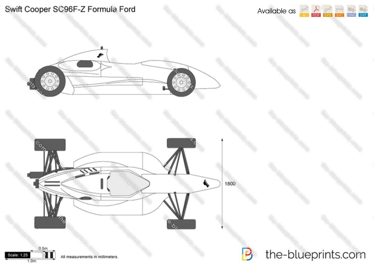Swift Cooper SC96F-Z Formula Ford