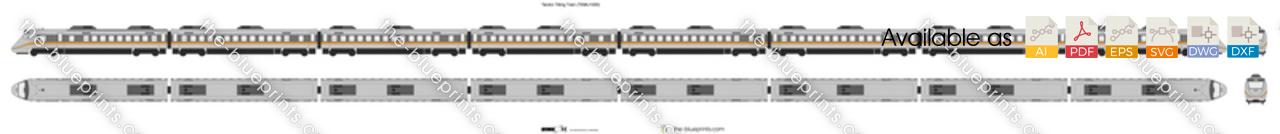 Taroko Tilting Train (TEMU1000)