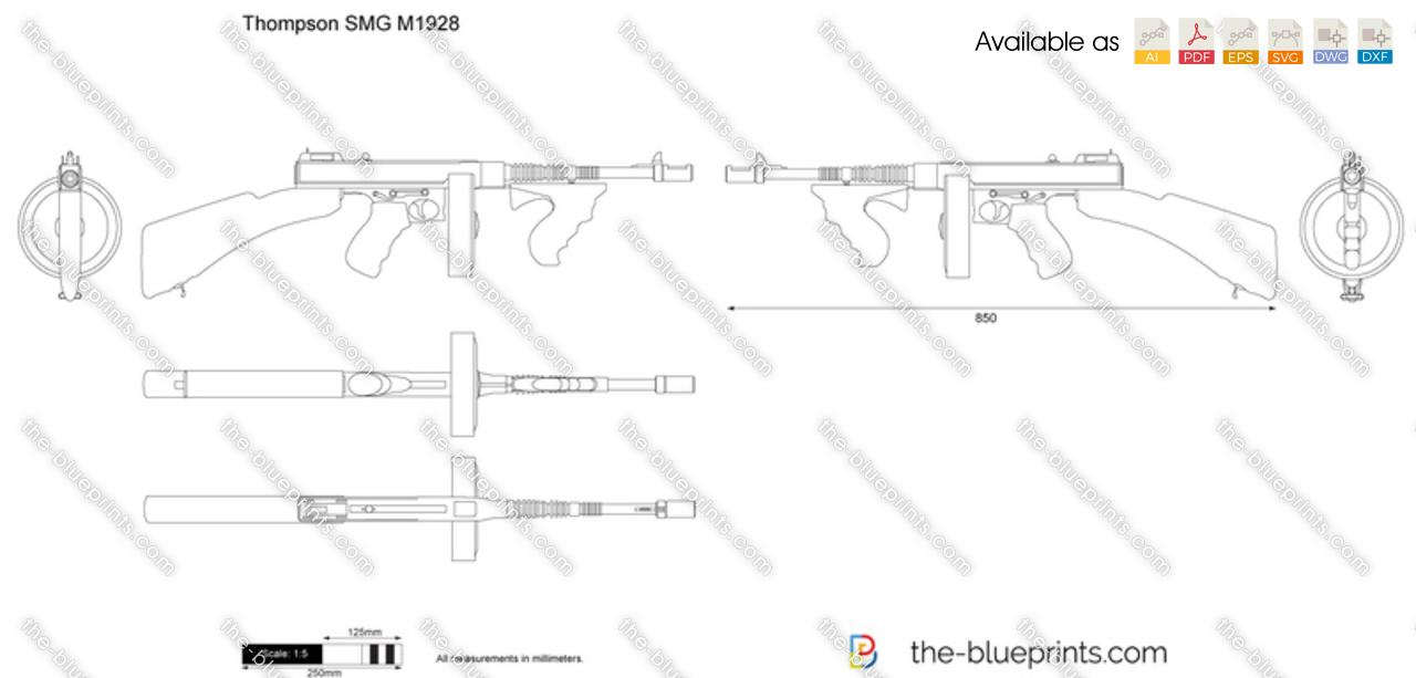 Thompson SMG M1928