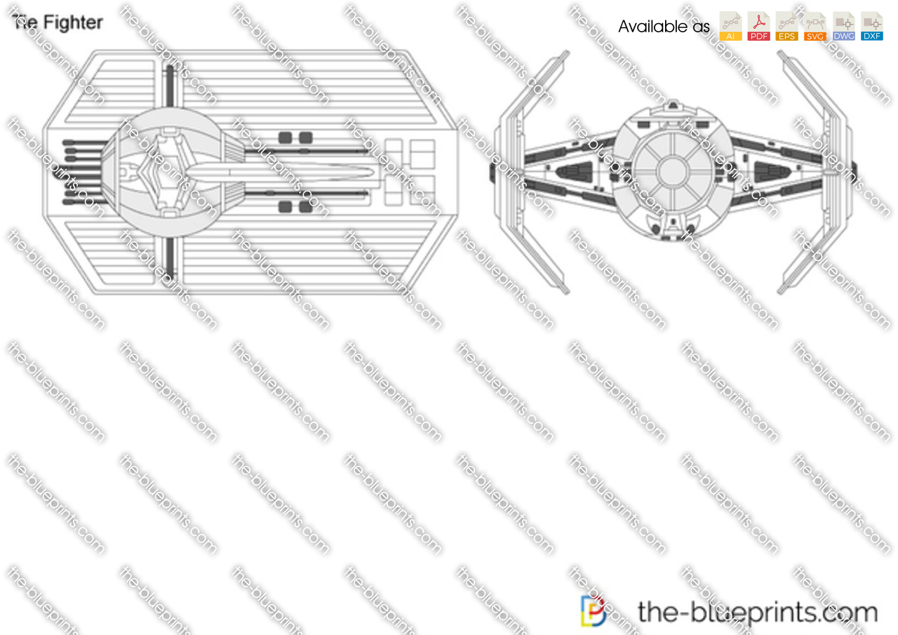 Imperial Tie Fighter Drawing Tie Fighter
