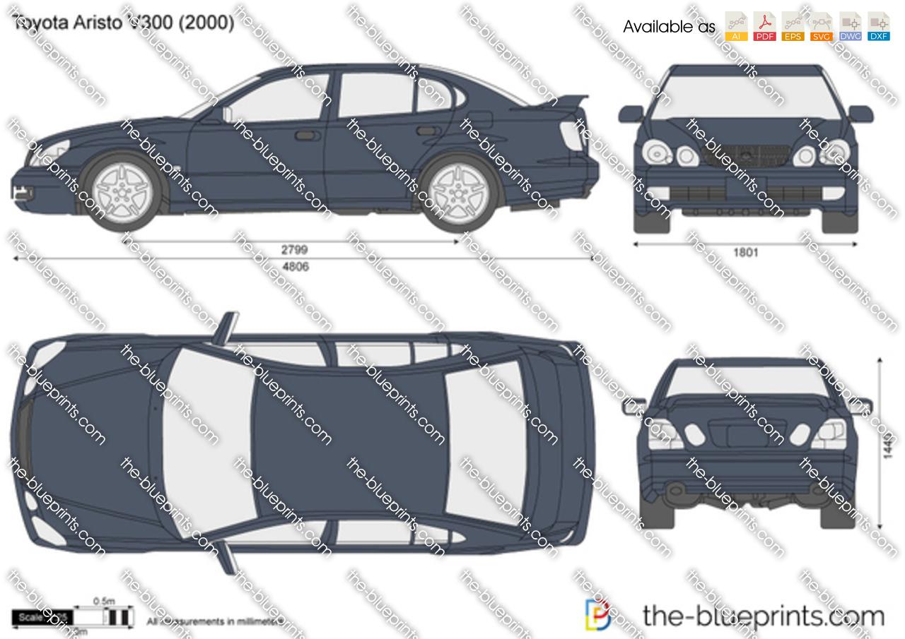 Toyota Aristo V300 1998