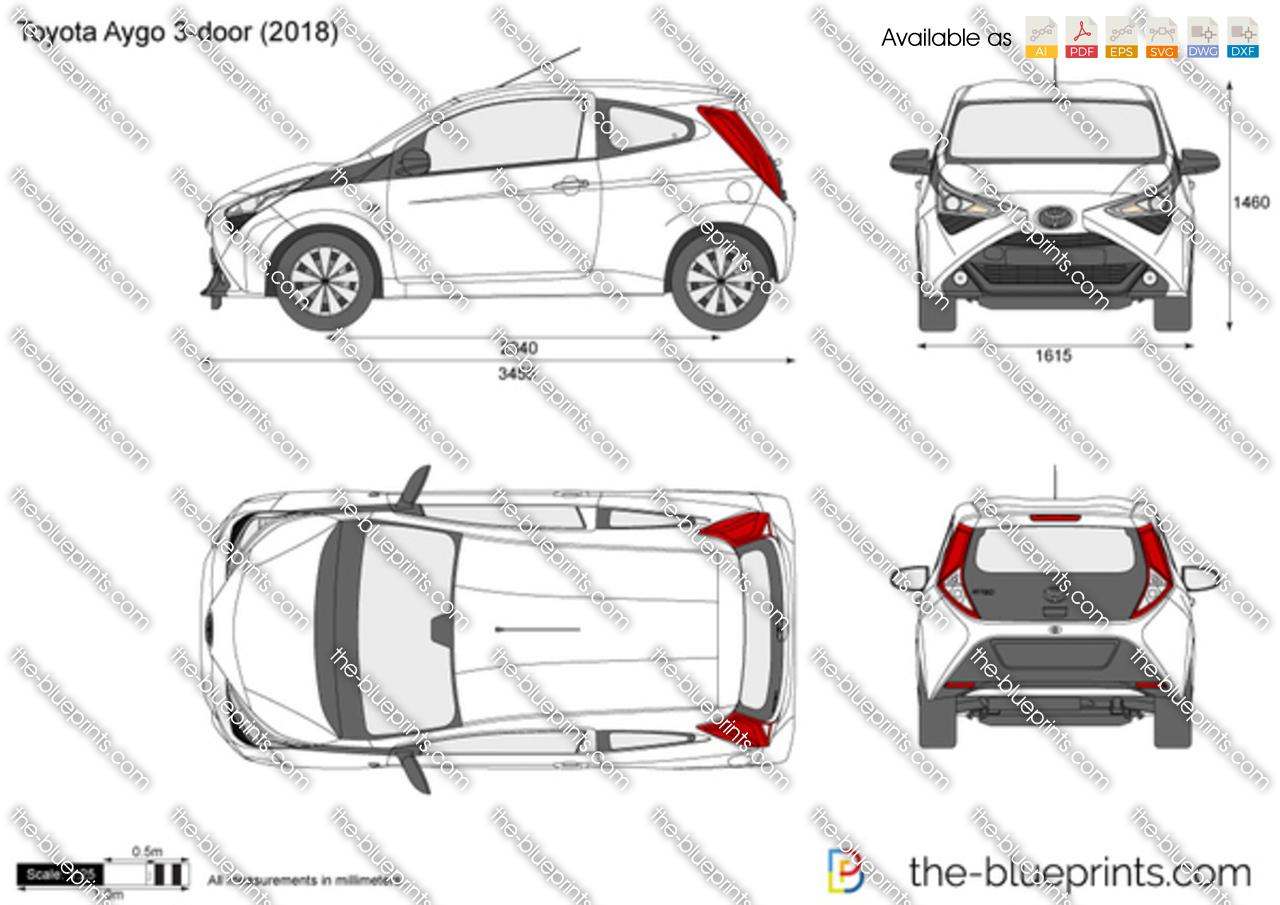 Toyota Aygo 3-door