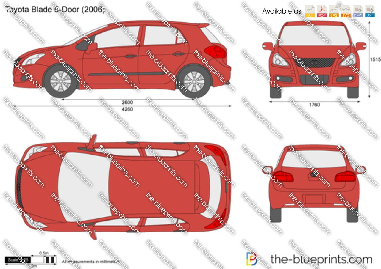 Toyota Blade 5-Door 2008