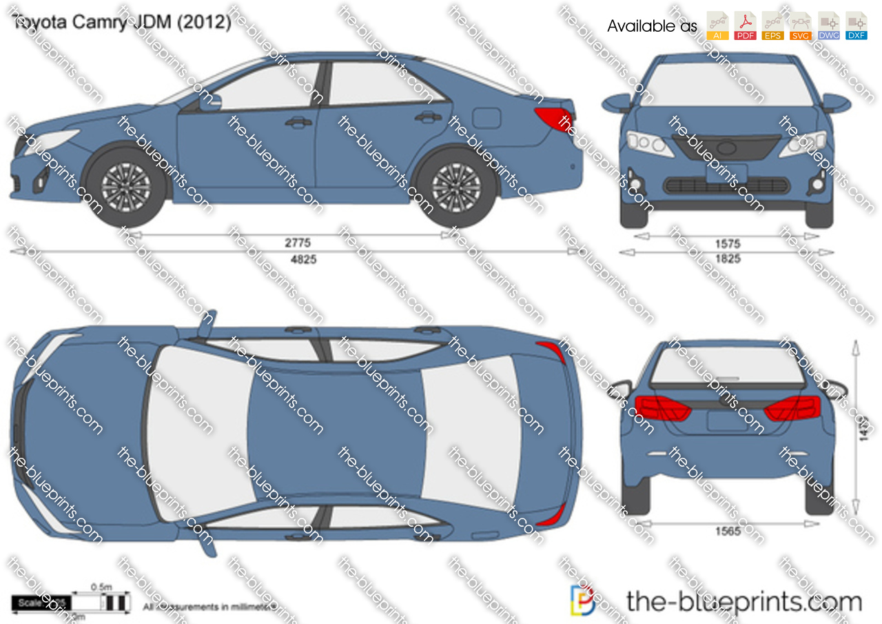 toyota camry dimensions 2020 - ototrends.net