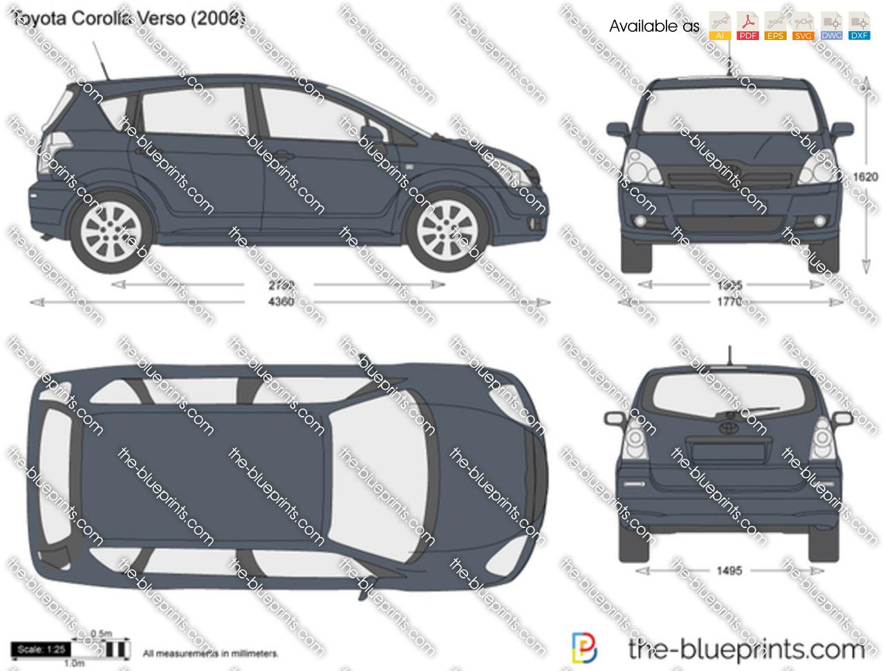 Toyota Corolla Verso 2012