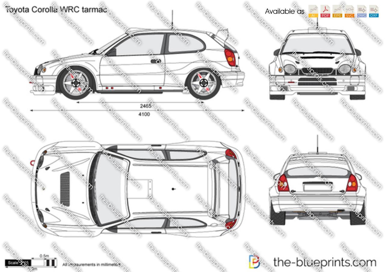 Toyota Corolla WRC tarmac