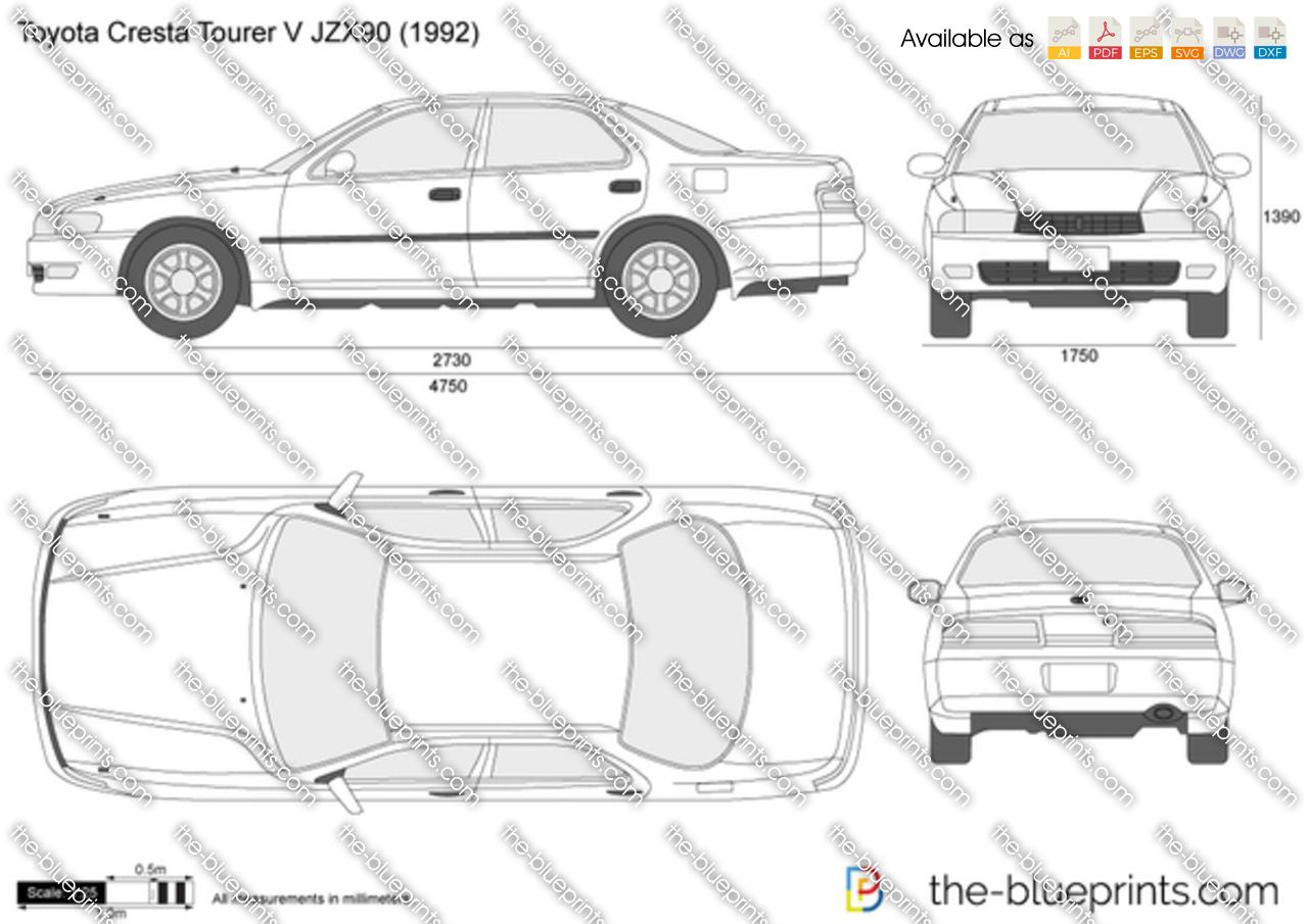 Toyota Cresta Tourer V JZX90