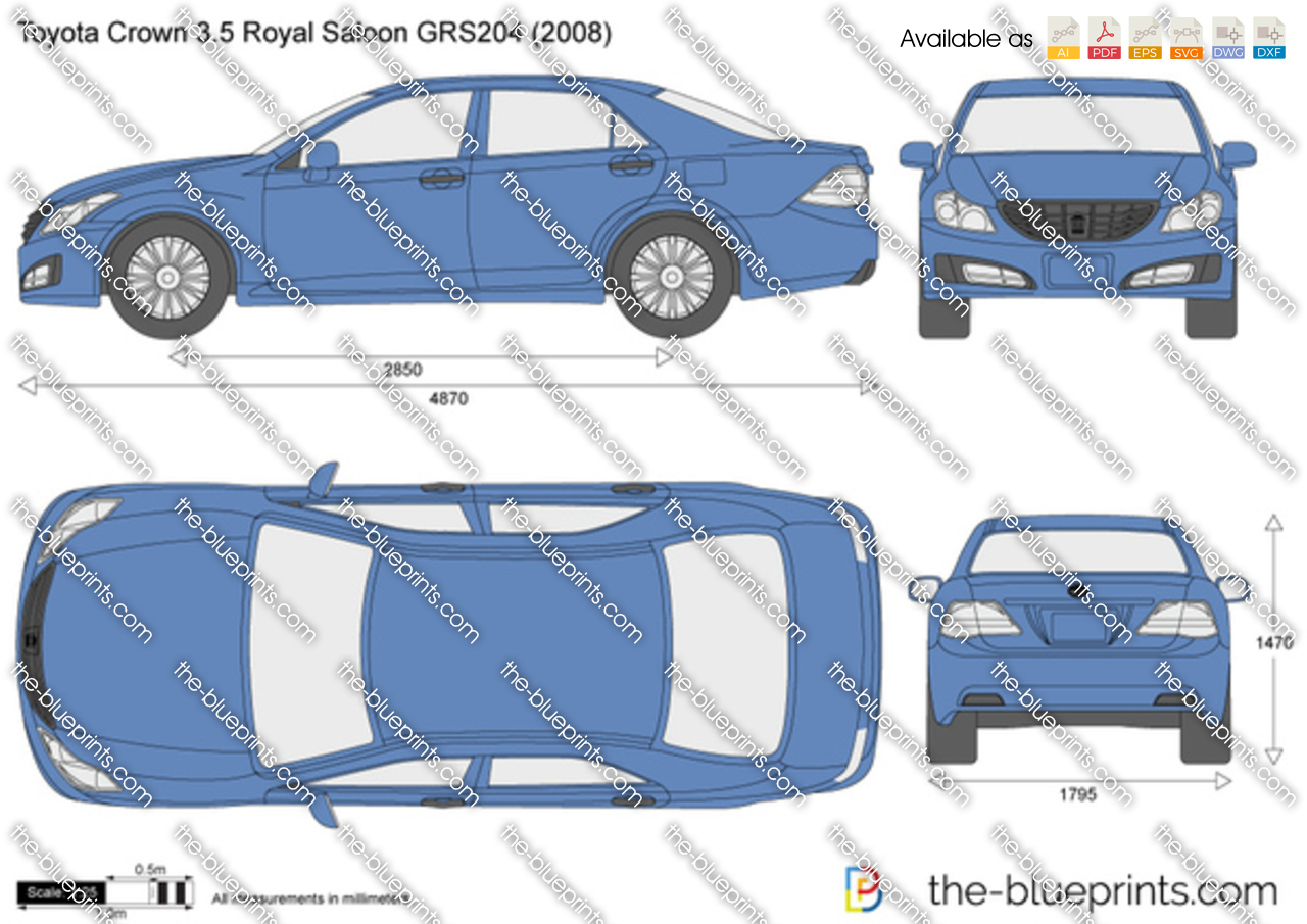 Toyota Crown 3.5 Royal Saloon GRS204