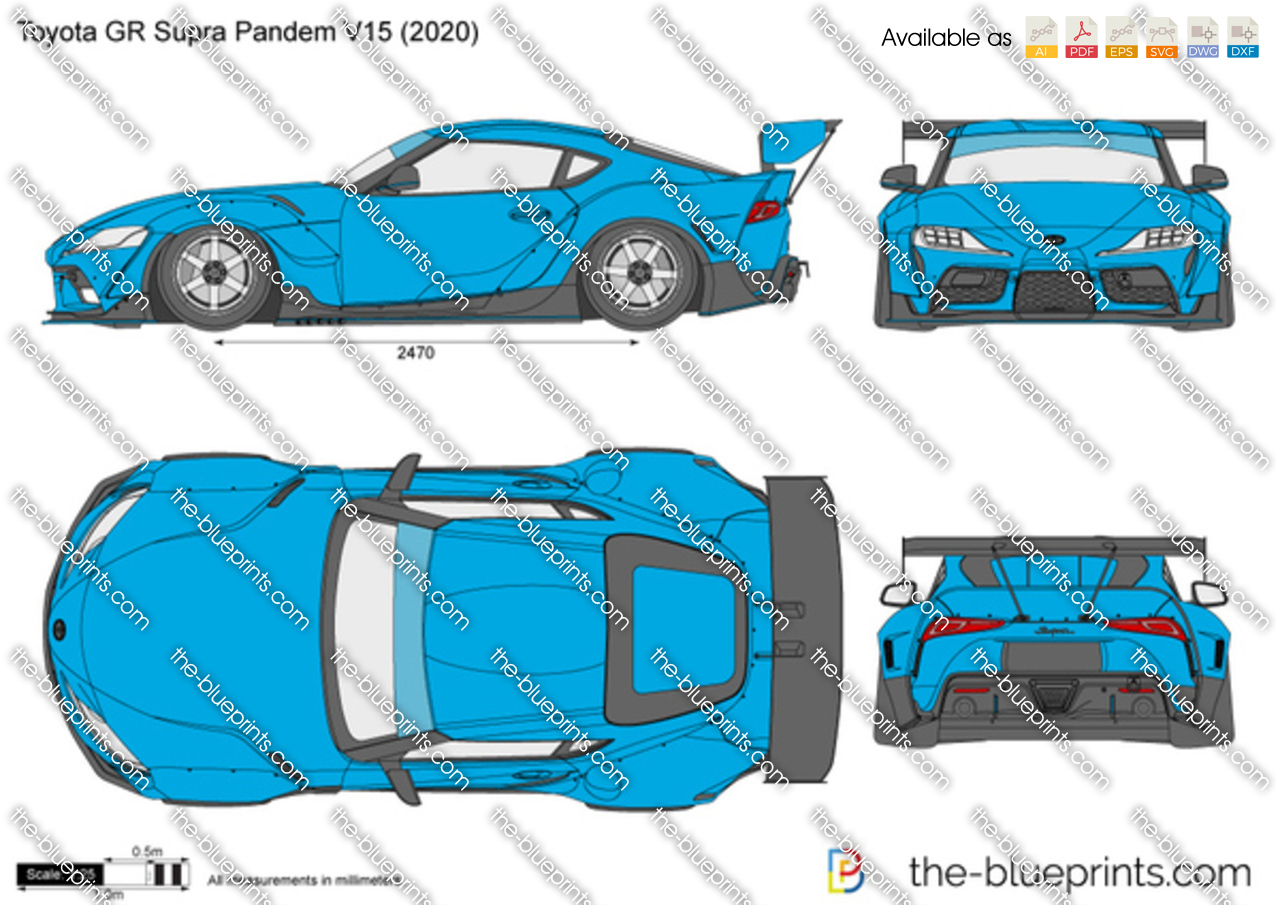 Toyota GR Supra Pandem V15