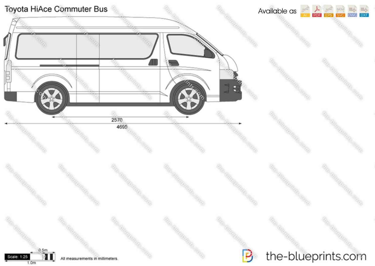 Toyota HiAce Commuter Bus