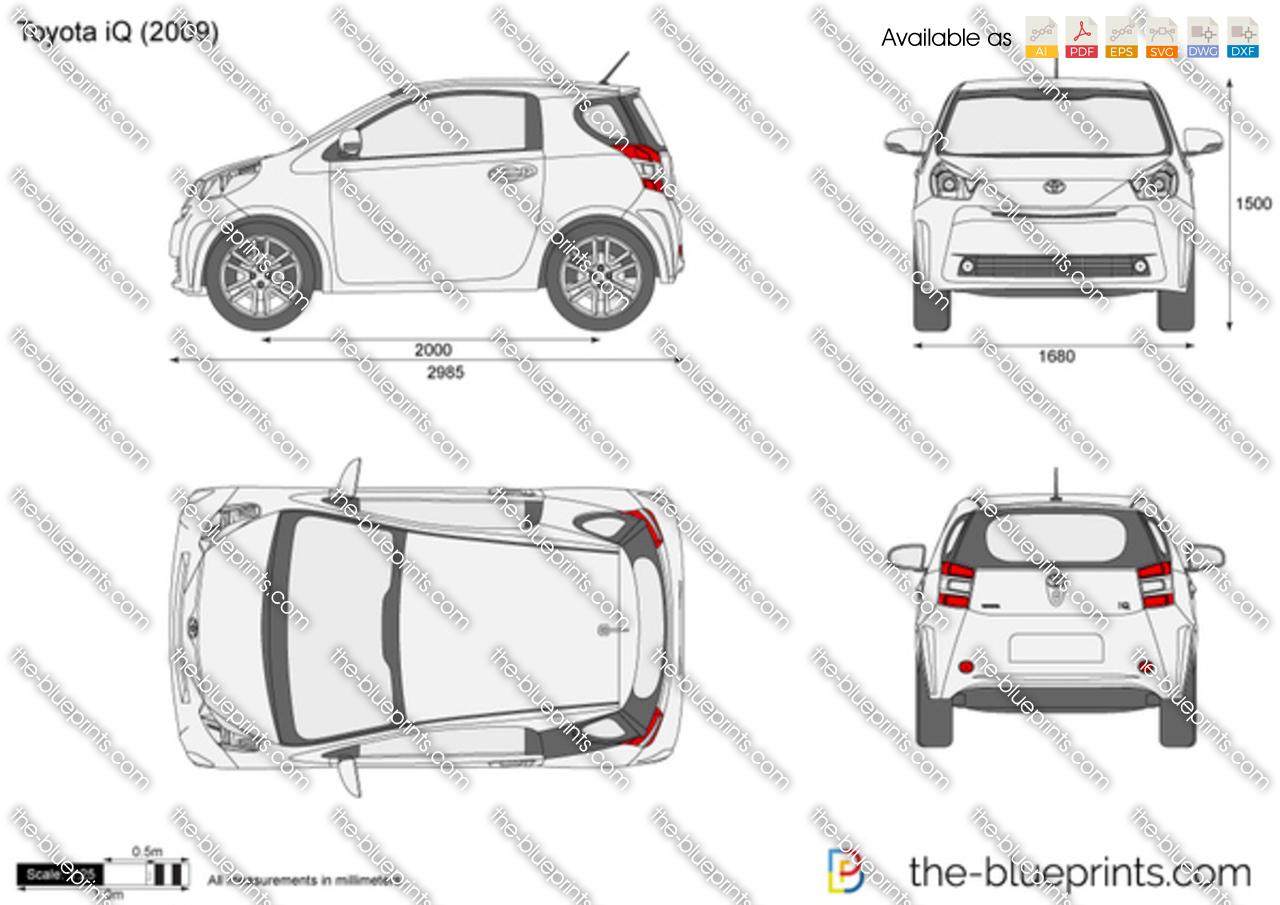 Toyota iQ 2012