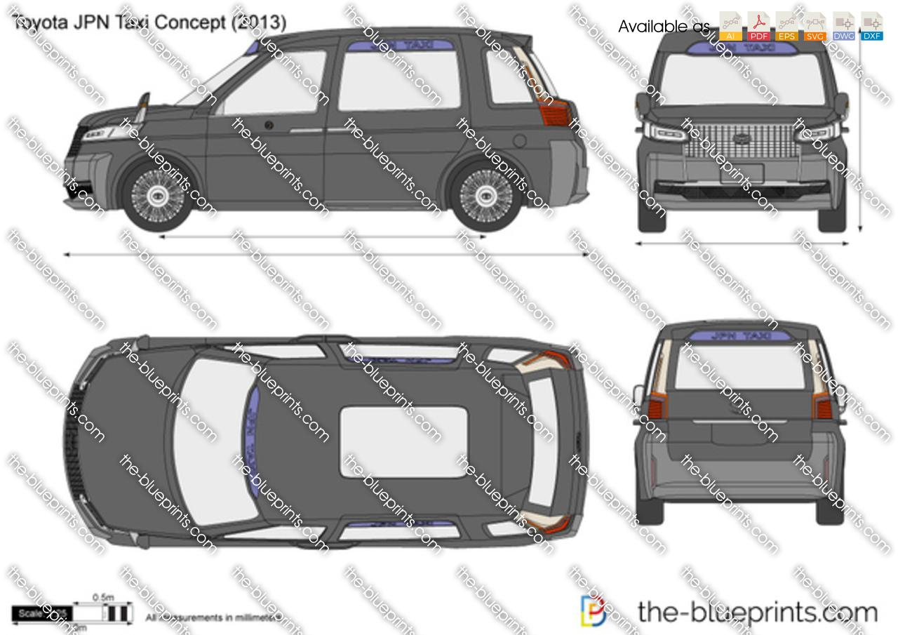 Toyota JPN Taxi Concept