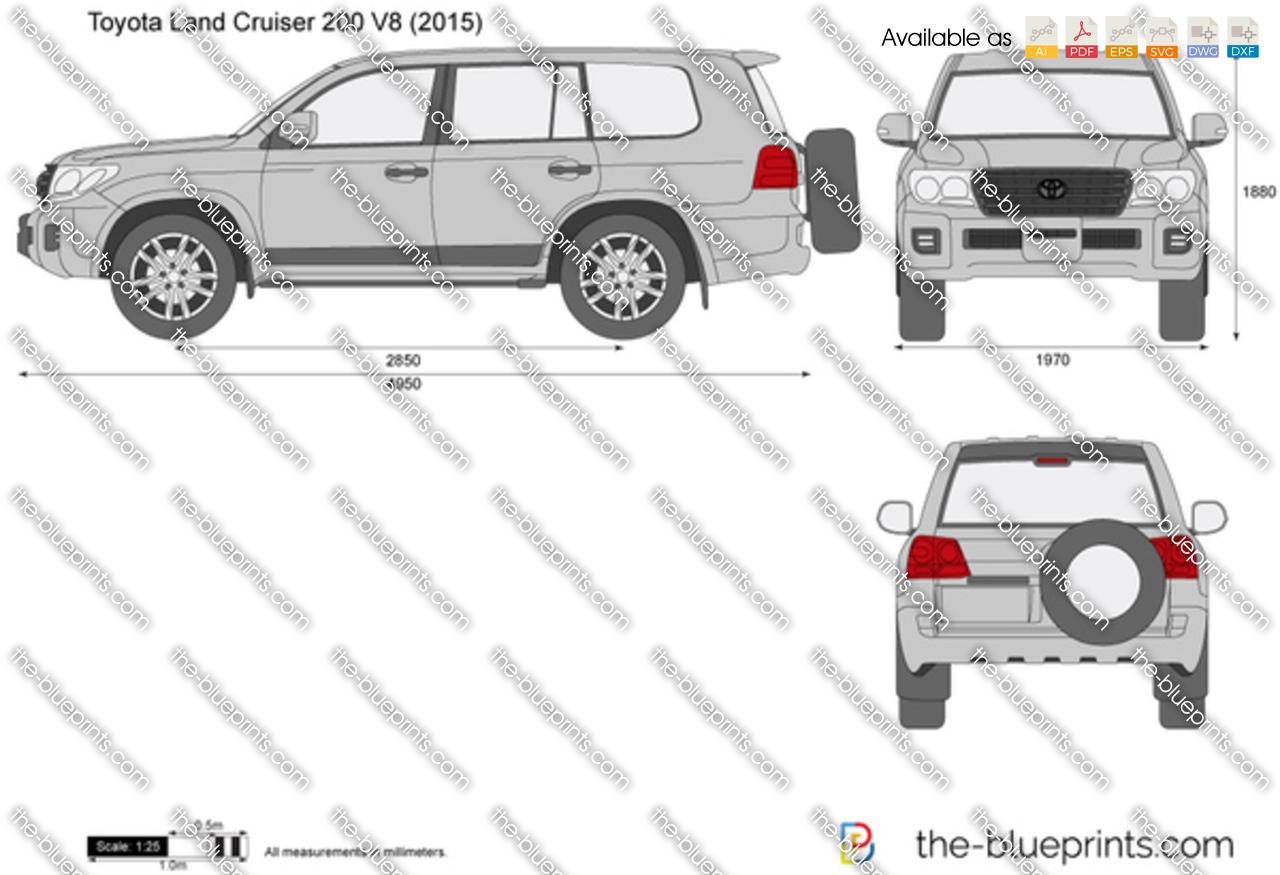 Toyota Land Cruiser 200 V8