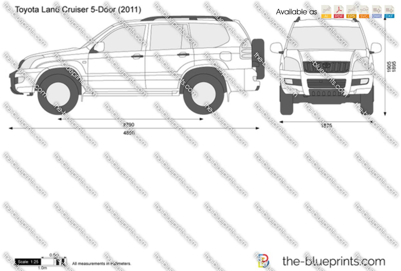 Toyota Land Cruiser 5-Door 2010