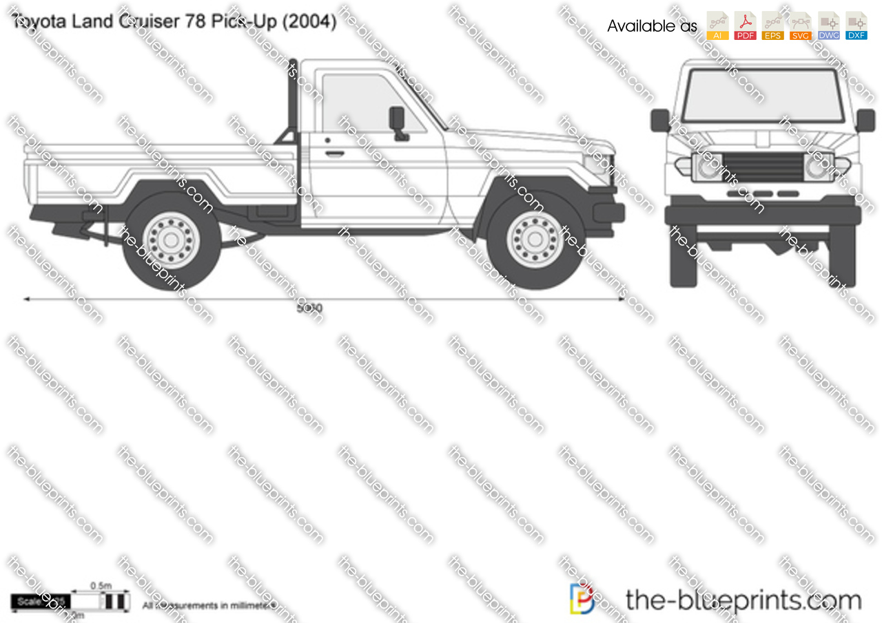 Toyota Land Cruiser 78 Pick-Up