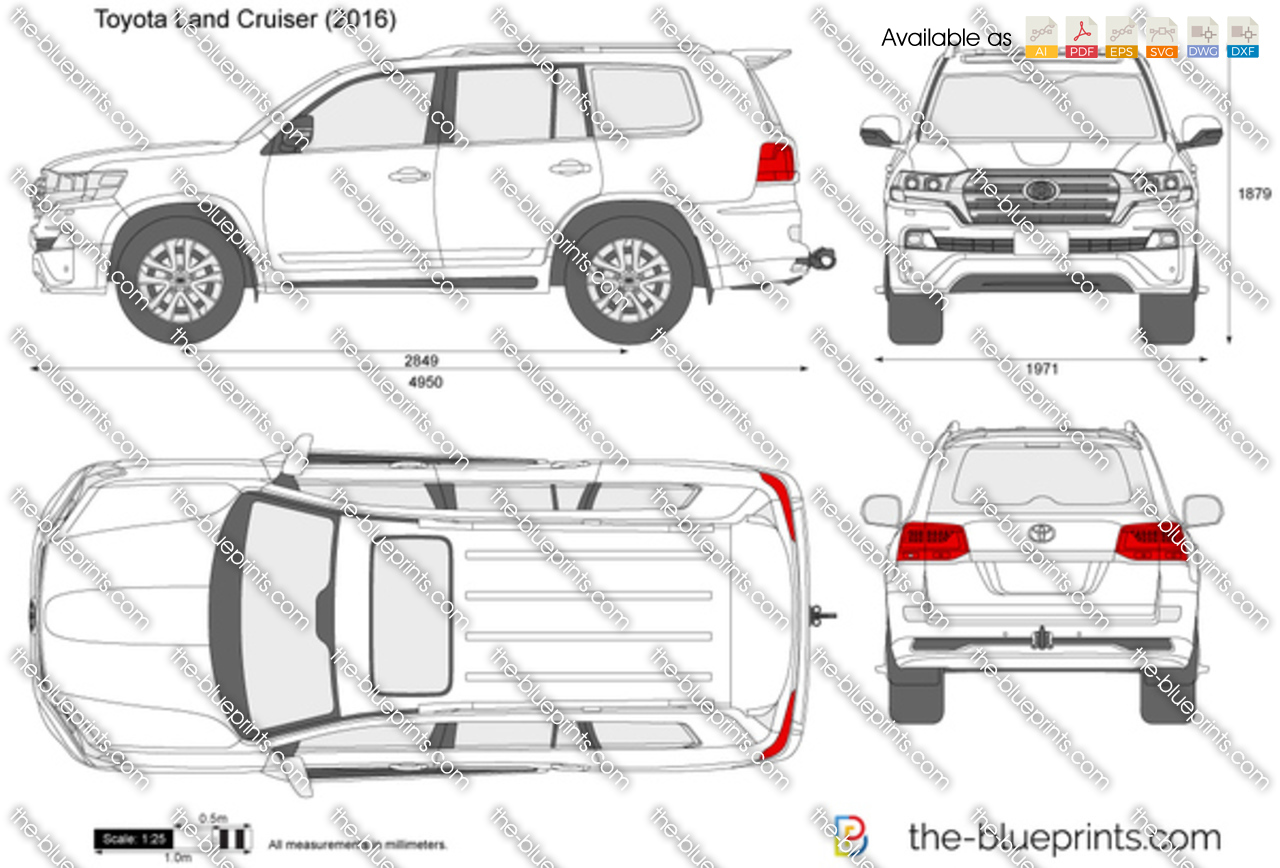 Toyota Land Cruiser (J200) 2015